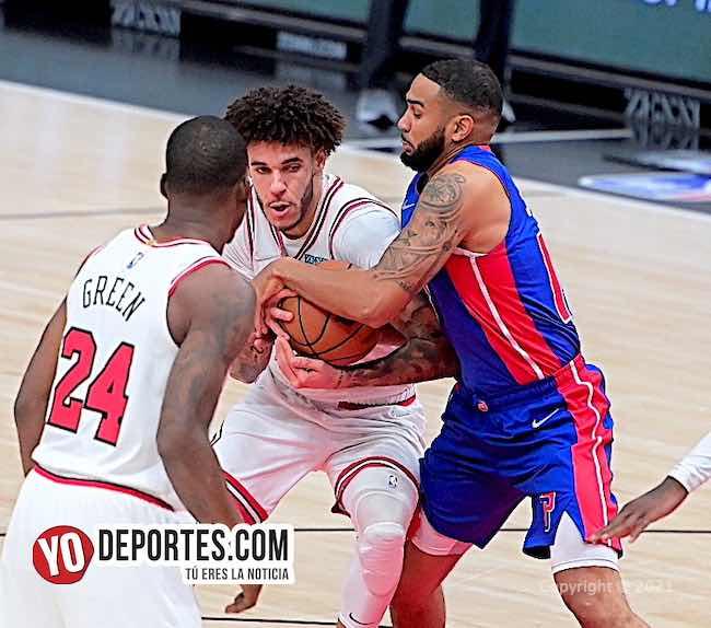 Los Bulls doblan a los Pistones para seguir invictos en la NBA
