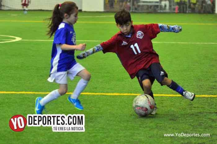 Deportivo 59 vs. Manchester Liga Douglas Infantil U-6