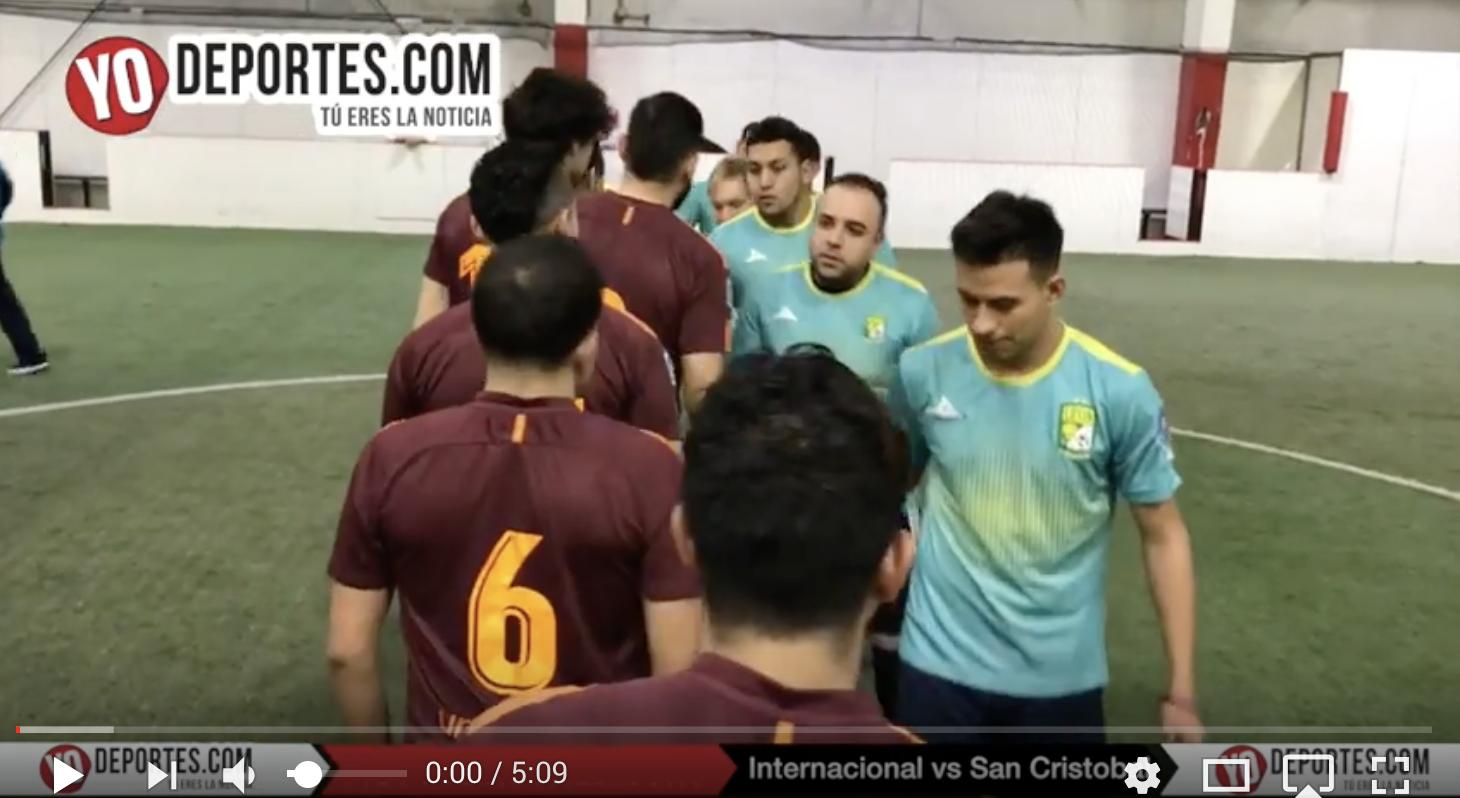 Internacional vs San Cristobal Liga Latinoamericana