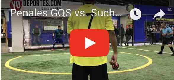 Penales GQS vs. Suchitepequez Penales Liga Latinoamericana